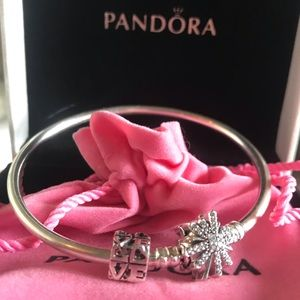 •Inscribed Pandora Bangle: The best is yet to come